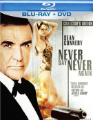 Never Say Never Again: Collectors Edition (Blu-ray + DVD Combo)