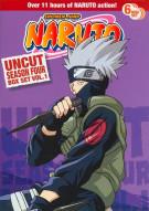 Naruto: Season 4 - Volume 1 (Uncut)