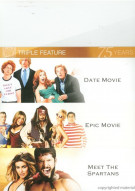 Date Movie / Epic Movie / Meet The Spartans (Triple Feature)