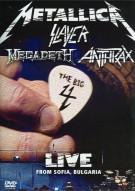 Metallica / Slayer / Megadeth / Anthrax: The Big 4 - Live From Sofia, Bulgaria