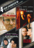 4 Film Favorites: Michael Douglas Collection