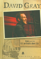 David Gray: Live From The Artists Den - Limited Edition DVD