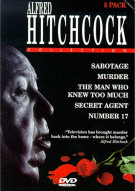 Alfred Hitchcock Collection (5 pack)(Madacy)