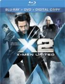 X2: X-Men United (Blu-ray + DVD + Digital Copy)