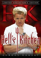 Hells Kitchen: Seasons 1 - 4