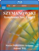 Szymanowski: Symphonies Nos.1 and 2