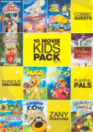10 Features Kids Movie Pack Vol. 4