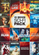 10 Features Sci-Fi Movie Pack
