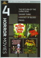 Bucket Of Blood, A / Frogs / The Return Of The Living Dead / Swamp Thing (4 Horror Movies)