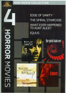 Edge Of Sanity / Equus / The Spiral Staircase / What Ever Happened To Aunt Alice? (4 Horror Movies)
