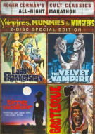 Lady Frankenstein / Time Walker / The Velvet Vampire / Grotesque (Vampires, Mummies And Monsters Collection)