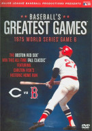Baseballs Greatest Games: 1975 World Series Game 6