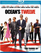 Oceans Twelve (Blu-ray + DVD Combo)