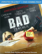 Bad Teacher: Unrated (Blu-ray + DVD Combo)