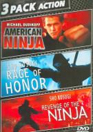 American Ninja / Rage Of Honor / Revenge Of The Ninja (Triple Feature)