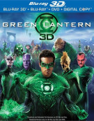 Green Lantern 3D (Blu-ray 3D + Blu-ray + DVD + Digital Copy)