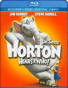 Horton Hears A Who (Blu-ray + DVD + Digital Copy)