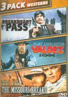 Breakheart Pass / Valdez Is Coming / The Missouri Breaks (Triple Feature)