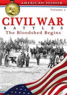 Civil War Battles: The Bloodshed Begins - Volume 2
