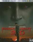 Fright Night 3D (Blu-ray 3D + Blu-ray + DVD + Digital Copy)