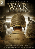 War: Heroic Battles - Bridge At Remagen / The Devils Brigade / 633 Squadron (Triple Feature)