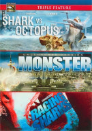 Mega Shark Vs. Giant Octopus / Monster / Raging Sharks (Triple Feature)