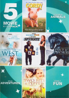 5 Features Kids Movie Pack