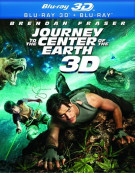 Journey To The Center Of The Earth 3D (Blu-ray 3D + Blu-ray)