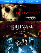 Friday The 13th / Nightmare On Elm Street / Freddy Vs. Jason (Triple Feature)