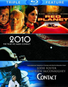 Red Planet / 2010: The Year We Make Contact / Contact (Triple Feature)