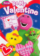 Barney: Be My Valentine: (Valentines Day Faceplate + Cards + DVD)