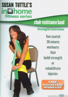 Susan Tuttle: Chair Resistance Band Strength Exercises (Includes Resistance Band)