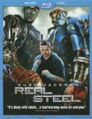 Real Steel (Blu-ray + DVD Combo)