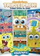 SpongeBob SquarePants: Truth Or Square / Who Bob What Pants / Whale Of A Birthday (Triple Feature)