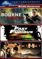 Action Adventure Spotlight Collection (The Bourne Identity / The Fast and the Furious / The Mummy)