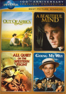 Best Picture Winners Spotlight Collection (Out of Africa / A Beautiful Mind / All Quiet on the Western Front / Going My Way)