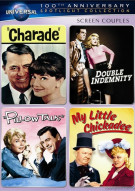 Screen Couples Spotlight Collection (Charade / Double Indemnity / Pillow Talk / My Little Chickadee)