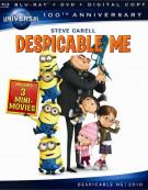 Despicable Me (Blu-ray + DVD + Digital Copy)