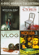 Cyrus / Medium Raw: Night Of The Wolf / Meskada / Vlog (4 Film Horror Collection)