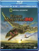 National Geographic: Flying Monsters 3D (Blu-ray 3D + Blu-ray + DVD)