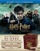 Harry Potter Wizards Collection (Blu-ray + DVD + UltraViolet)