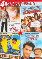 4 Comedy Greats: Stir Crazy / Nothing In Common / Slackers / Blind Date