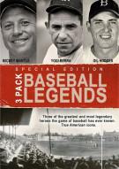 Baseball Legends: Mickey Mantle / Yogi Berra / Gil Hodges (3 Pack)