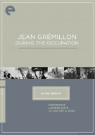 Jean Gremillon During The Occupation: Eclipse From The Criterion Collection