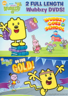 Wow! Wow! Wubbzy!: Wubbzy Goes To School / Go For Gold! (2 Pack)