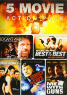 5 Features Action Movie Pack: Volume 2
