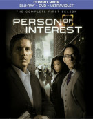 Person Of Interest: The Complete First Season (Blu-ray + DVD + UltraViolet)