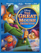 Great Mouse Detective, The: Special Edition (Blu-ray + DVD Combo)