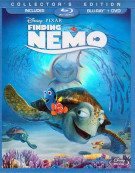 Finding Nemo: 3 Disc Collectors Edition (Blu-ray + DVD Combo)
