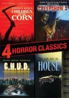 4 Horror Classics (Children Of The Corn / Creepshow 2 / House / C.H.U.D.)